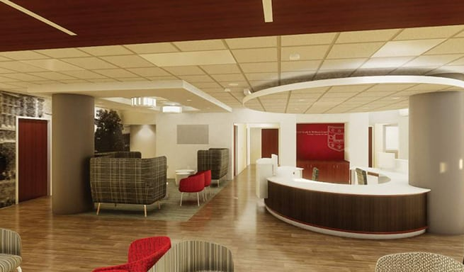 BSA LifeStructures | Student Health and Wellness Renovation